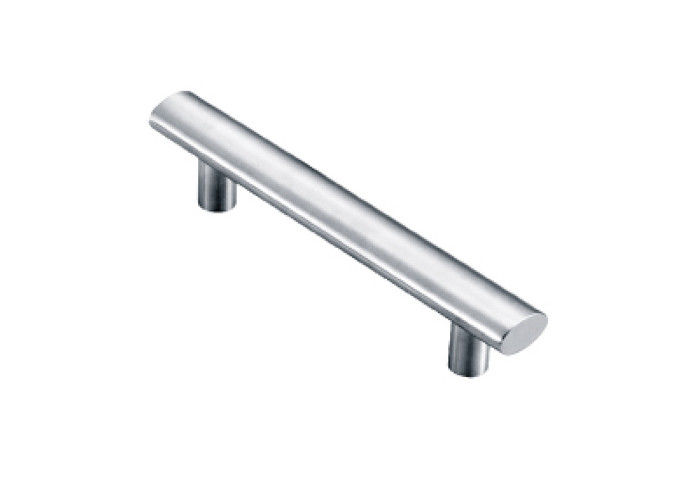 Furniture Stainless Steel Handles , Decoration Steel Door Pull Handles Multistyled